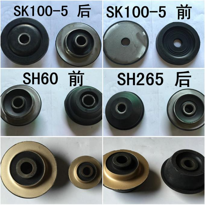 SK60 Front PC450-7 Rear Rubber Engine Mounts Excavator Engine Parts