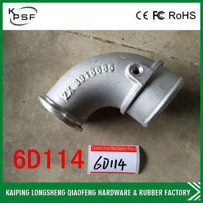 China Caterpillar Metal Iron Exhaust Manifold Pipe For Excavators E70 E70B 307 supplier