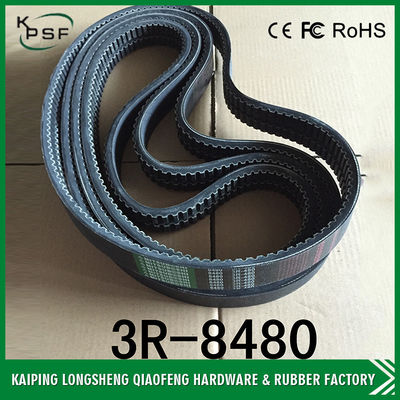 China 2R8480 Excavator Spare Parts Excavator Cooling Fan Belt Air Conditioner Belt distributor