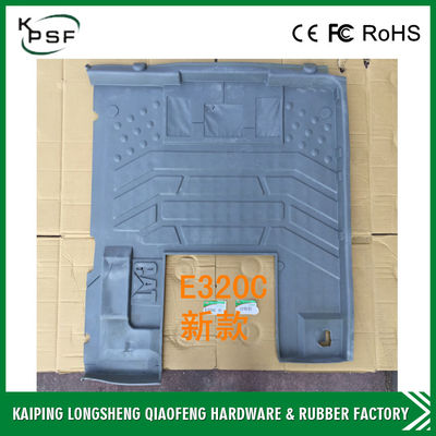 China Hitachi HD820 Custom Rubber Floor Mats Spare Parts For Excavator Cabs distributor