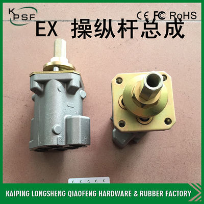 China Grey Hydraulic Joystick Parts Control Handle ME018001 For Cabin 25 Swing Angle distributor