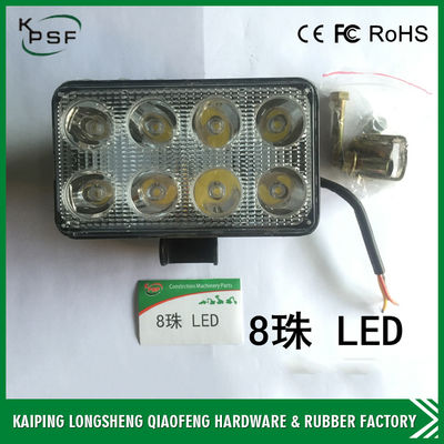 China Energy Saving Excavator Work Lights Alloy Die Casting 110×75×65 mm DC 12-80 V factory