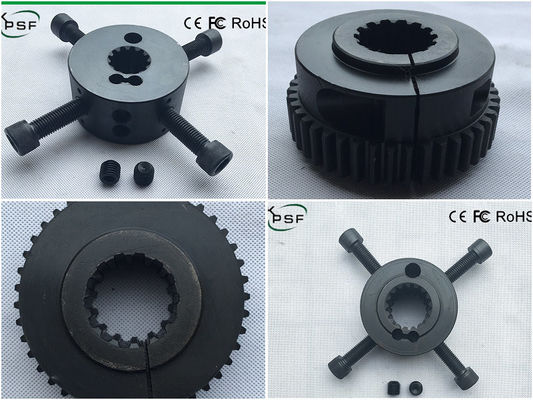 China Flexible Engine Driven Spline Gear Coupling 14T For Caterpillar Excavators distributor