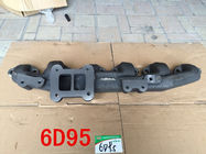 Excavator Spare Parts Exhaust Manifold Pipe HT200 / HT250 / QT450